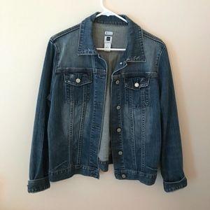 Gap Stretch Denim Jacket Large